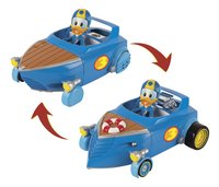 Bolide transformable avec figurine Disney Mickey et ses amis : Top Départ ! Donald-commercieel beeld