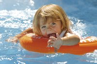 Zwemband Swimtrainer Classic rood-Afbeelding 1