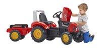 Falk tracteur avec remorque Supercharger rouge-Image 1