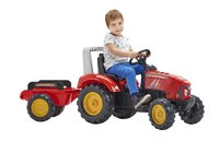 Falk tracteur avec remorque Supercharger rouge-Image 2