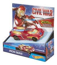 Hot Wheels auto Captain America Civil War Iron Man