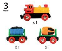 BRIO World 33319 Train de marchandises avec lumière-Détail de l'article