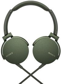 Sony hoofdtelefoon MDR-XB550AP groen
