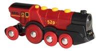 BRIO World 33592 Locomotive rouge puissante à piles-Avant