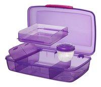 Sistema lunchbox Bento Box Duo paars-Artikeldetail