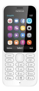 Nokia GSM 222 blanc