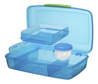 Sistema lunchbox Bento Box Duo blauw-Artikeldetail