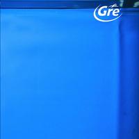 Gre vervangzeil zwembad Splasher diameter 4,5 - 4,6 m blauw
