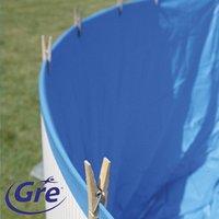 Gre bâche de rechange piscine Splasher diamètre 4,5-4,6 m bleu-Image 1