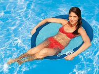 Swimways luchtzetel voor 1 persoon Papasan blauw-Afbeelding 1