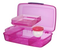 Sistema lunchbox Bento Box Duo roze-Artikeldetail
