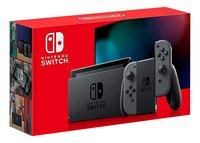 Nintendo Switch console met extra autonomie Grijs-Linkerzijde