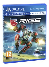 PS4 VR Rigs Mechanized Combat League ENG/FR