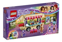 LEGO Friends 41129 La camionnette à hot-dogs du parc d'attractions-Avant
