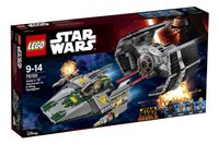 LEGO Star Wars 75150 Darth Vaders TIE Advanced tegen de A-Wing Starfighter