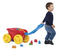 Mega Bloks First Builders Block Scooping Wagon-Image 1