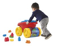 Mega Bloks First Builders Block Scooping Wagon-Image 2