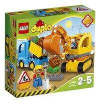 LEGO DUPLO 10812 Le camion et la pelleteuse