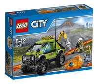 LEGO City 60121 Le camion d'exploration du volcan