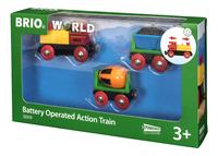 BRIO World 33319 Train de marchandises avec lumière-Côté droit