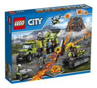 LEGO City 60124 La base d'exploration du volcan