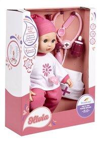 DreamLand zachte pop met doktersset Olivia is ziek-Linkerzijde