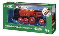BRIO World 33592 Locomotive rouge puissante à piles-Côté droit