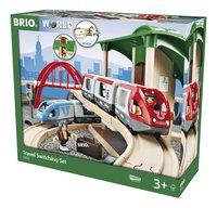 BRIO World 33512 Circuit plateforme voyageurs-Côté droit