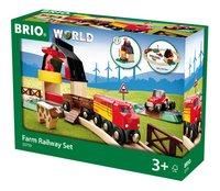 BRIO World 33719 Circuit de la ferme-Côté droit
