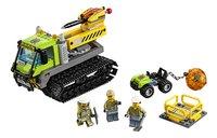 LEGO City 60122 Vulkaan Crawler-Vooraanzicht