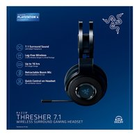 Razer casque-micro PS4 Thresher 7.1 Wireless noir-Avant