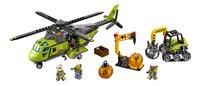 LEGO City 60123 L'hélicoptère d'approvisionnement du volcan-Avant