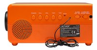 Denver radio-réveil rétro CR-425 orange-Détail de l'article
