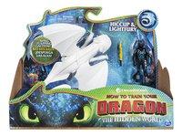 Figuur How to Train Your Dragon 3 Hiccup & Lightfury-Vooraanzicht