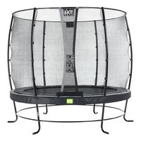 EXIT trampolineset Elegant Economy Ø 2,51 m zwart-Vooraanzicht