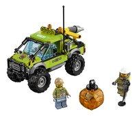 LEGO City 60121 Le camion d'exploration du volcan-Avant