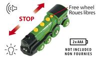 BRIO World 33593 Locomotive verte puissante à piles-Détail de l'article