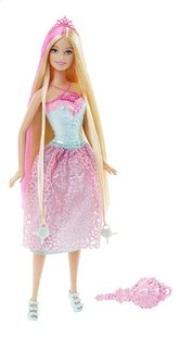 Barbie mannequinpop Endless Hair Kingdom roze-Vooraanzicht