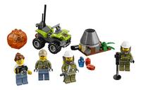 LEGO City 60120 Ensemble de démarrage du volcan-Avant