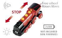 BRIO World 33592 Locomotive rouge puissante à piles-Détail de l'article