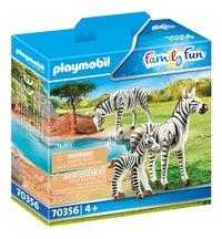 PLAYMOBIL Family Fun 70356 Zebra's met baby-Linkerzijde