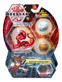 Bakugan Starter 3-Pack - Pyrus Fangzor-Vooraanzicht