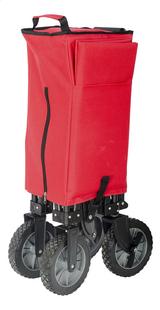 Campman Chariot pliant rouge-Détail de l'article