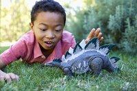 Jurassic World figuur Large dino rivals Stegosaurus-Afbeelding 3