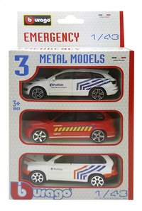 Auto Emergency België - 3 stuks-Vooraanzicht