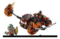 LEGO Nexo Knights 70313 Moltor's Lavabeuker-Vooraanzicht