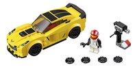 LEGO Speed Champions 75870 Chevrolet Corvette Z06-Vooraanzicht