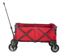 Campman Chariot pliant rouge-Côté gauche