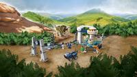 LEGO Jurassic World 75937 Triceratopschaos-Afbeelding 1