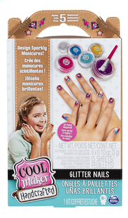 Cool Maker Handcrafted Glitter nails-Vooraanzicht